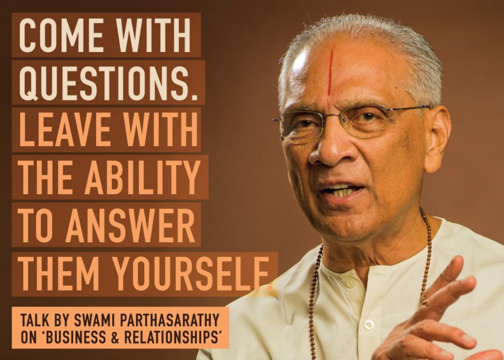 Vedanta Institure London celebrates Swami Parthasarathy's 90th Birthday