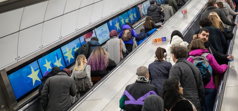 Google and Netflix among the first brands to feature on Exterion's new underground format - Escalator Screens