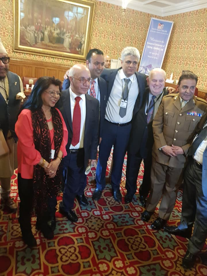 Nepal Centre UK inaugurated, Our MD Manish Tiwari in the image