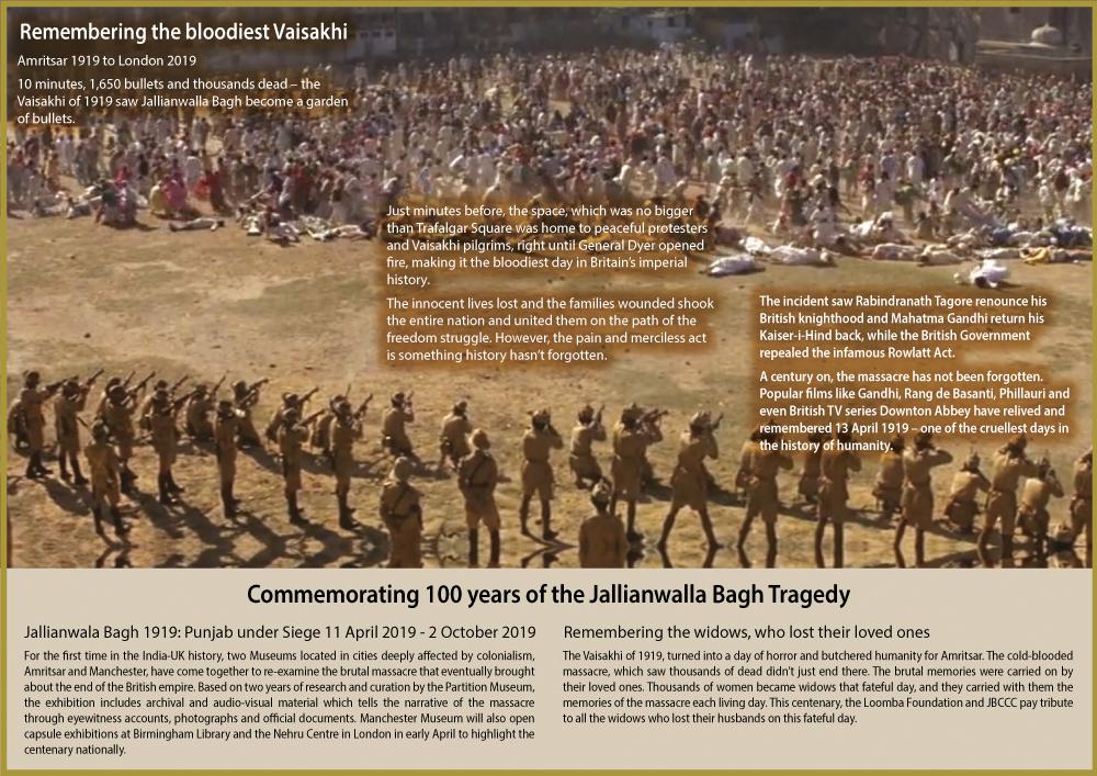 The Massacre of Jallianwalla Bagh - 100 Years Later